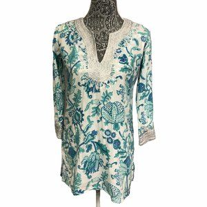 Roberta Roller Rabbit by Piperlime Floral Tunic XS